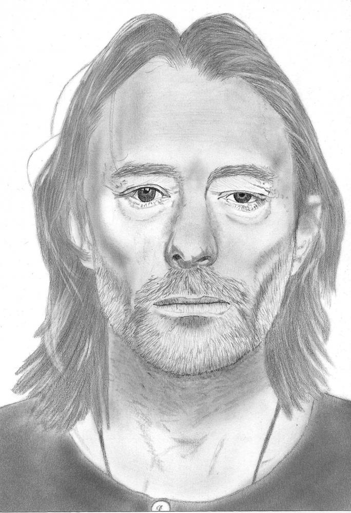 Thom Yorke by wpascal